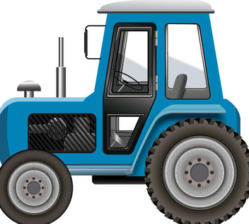 Tractor Icon - vector gratuit #340883