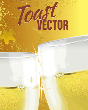 Toast Drink Background - vector gratuit #341073