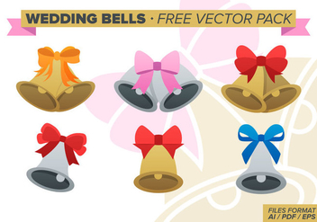 Wedding Bells Free Vector Pack - бесплатный vector #341573