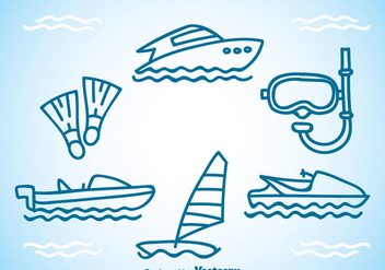 Diving Equipment - Free vector #341943