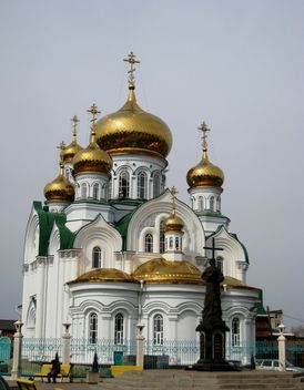 White Church in Bataysk, Rostov Region - бесплатный image #342563