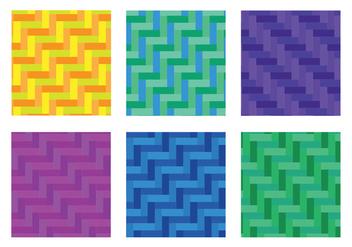 Herringbone Pattern Diagonal Fullcolor Vector - бесплатный vector #343033