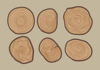 Vector Tree Ring - vector gratuit #343153
