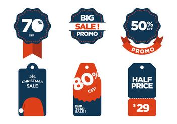 Vector Sale Symbols - Free vector #343203