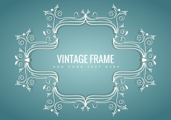 Vintage frame - vector gratuit #343433