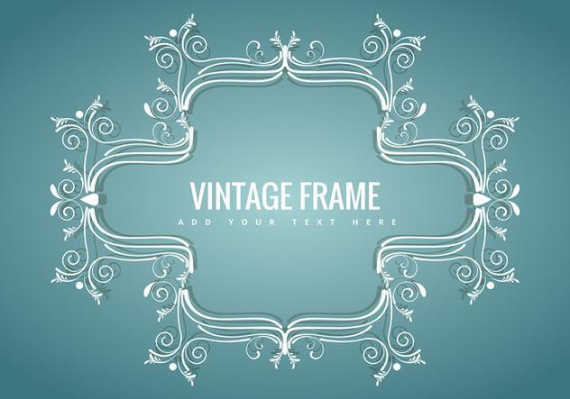 Vintage frame - Free vector #343433