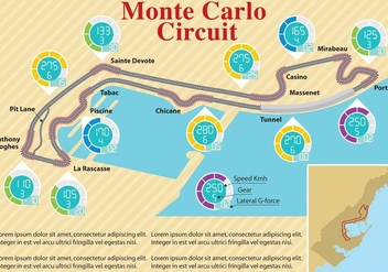 Monte Carlo Circuit - бесплатный vector #343803