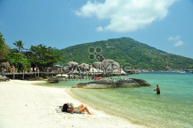 Нанг островных пляж - бесплатный image #343873