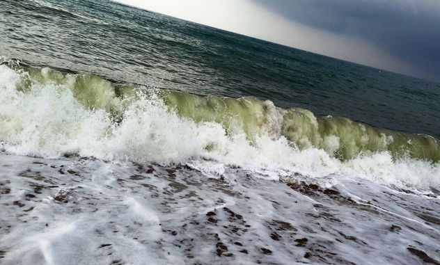 Sea wave near the shore - Free image #343983