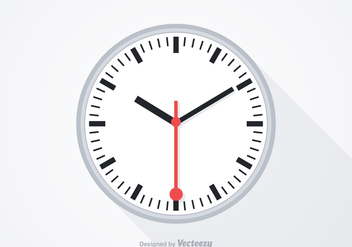 Free Swiss Clock Vector - бесплатный vector #344463