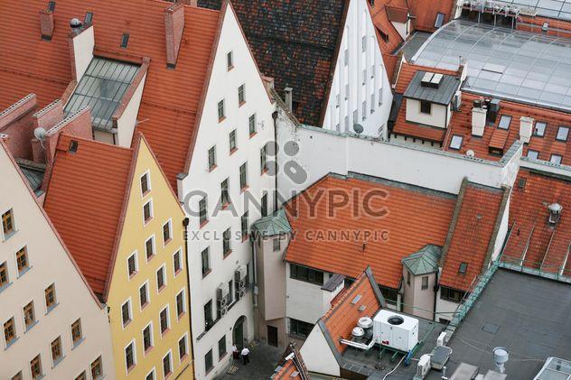Посмотреть на крышах домов в Вроцлав, Польша - бесплатный image #344523