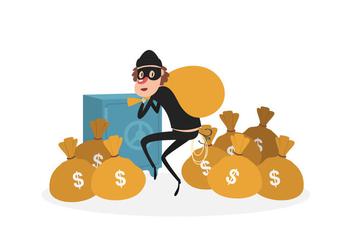 Robber Vectors - Free vector #344733