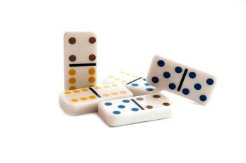 White domino stones - Free image #345873