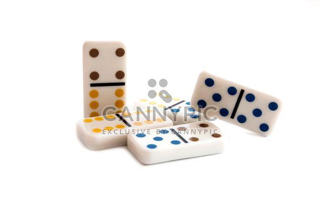 Weiße Domino-Steine - Kostenloses image #345873