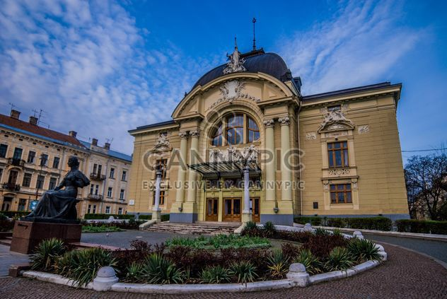 Musique et théâtre theater à Chernivtsi, Ukraine - Free image #346593