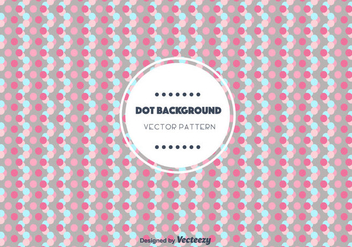 Dot Background Vector - Free vector #346803