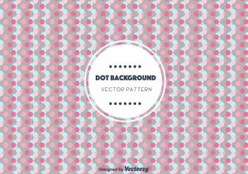 Dot Background Vector - vector gratuit #346803