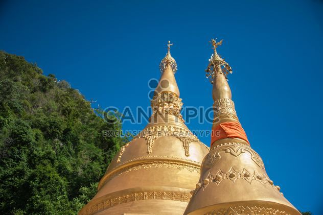Sacred place of Buddhist worship ceremony - Free image #347303