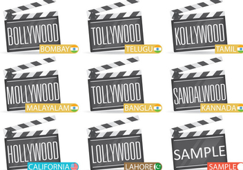 Film Cities - vector gratuit #347353