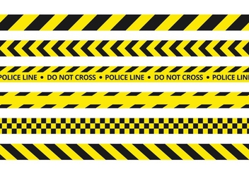 FREE POLICE LINE VECTOR - Free vector #348083