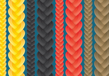 Braid Vectors - Free vector #348703