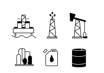 Oil Vector - Kostenloses vector #349063