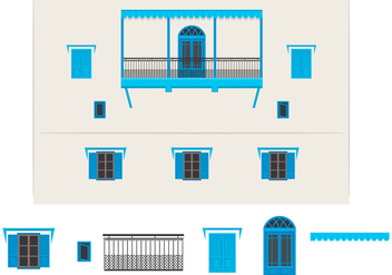 Indian Building Vector - vector #349313 gratis