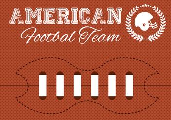 Free American Football Vector - бесплатный vector #349833
