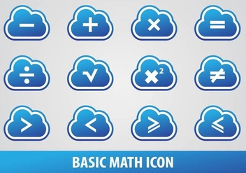 Basic Math Icon - vector gratuit #349863