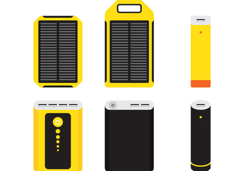 Power Bank Isolated - vector #350523 gratis