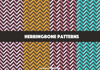 Free Bold Herringbone Pattern Vectors - Free vector #350653