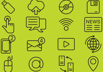 Technology Icons - Free vector #350763