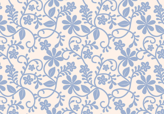 Seamless Lace Pattern Vector - Free vector #351683