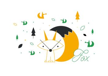 Free Fox Vector - Free vector #352643