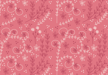 Coral Flower Vector Seamless Pattern - Free vector #352913