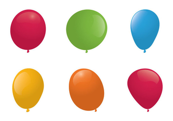 Free Balloons Vector Illlustration - Free vector #353003