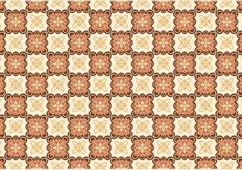 Modern Batik Kawung Vector - Free vector #353443