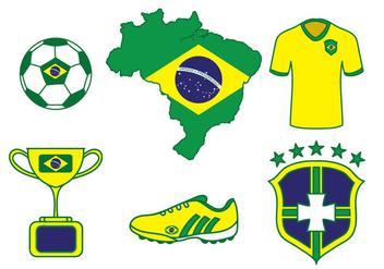 Brazil Vector - Kostenloses vector #353723