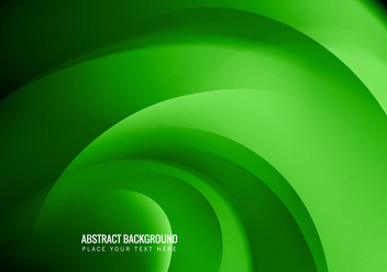 Business Card With Green Color - Free vector #355103