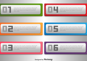 Silver Plate Vector Banners - Free vector #355703