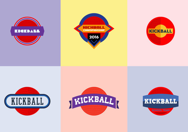 Free Kickball Vector Pack - vector #355713 gratis