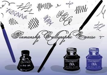 Free Vector Calligraphy - бесплатный vector #355763