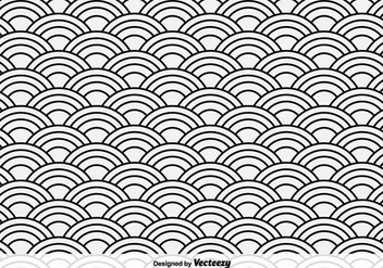 Oriental Sea Vector Pattern - Free vector #356373