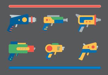 Free Laser Gun Vector #1 - Free vector #356493