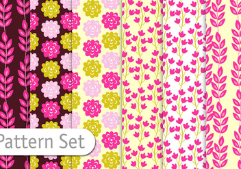 Colorful Floral Background - Free vector #356853