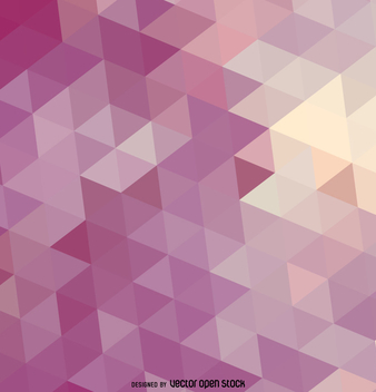 Purple triangle background - vector #357843 gratis