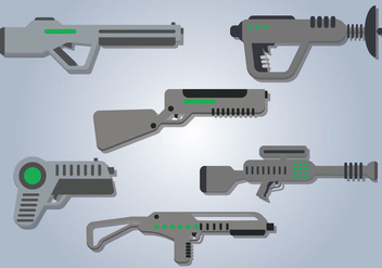 Laser Gun Vector - Free vector #358073