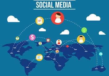 Free Social Media Vector - vector #358193 gratis