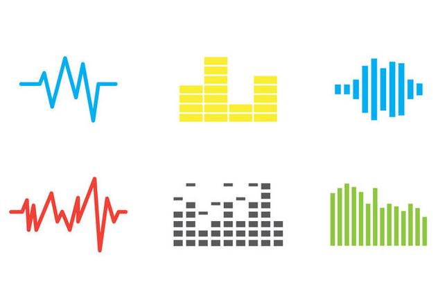 Free Sound Bars Vector #1 - vector gratuit(e) #358693