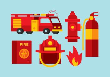 Vector Fireman Tools - Kostenloses vector #358823